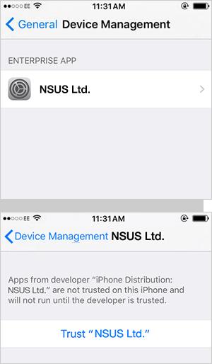 Доверять компании NSUS.